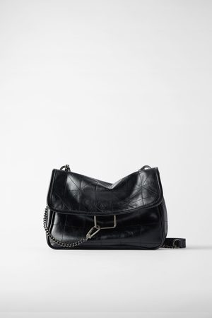 Zara Rocker soft crossbody bag