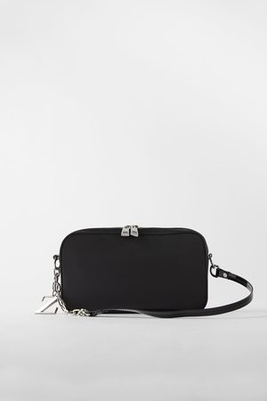 Zara Nylon baguette bag