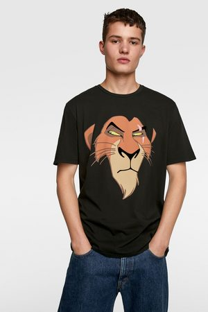 Zara Men T-shirts - Scar © disney t-shirt