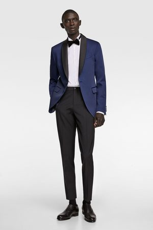 Zara Men Blazers - Blazer with contrast collar