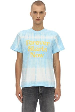 NASASEASONS Forever Starts Now Tie Dyed T-shirt