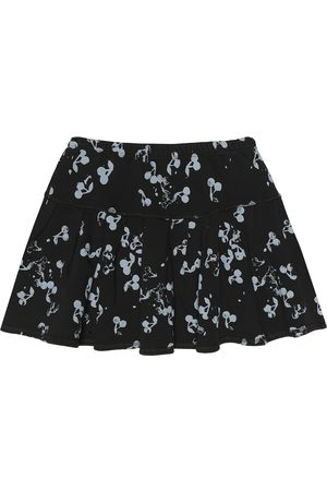 BONPOINT Cherry-print cotton skirt