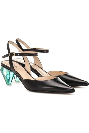 Marc Jacobs The Slingback leather pumps