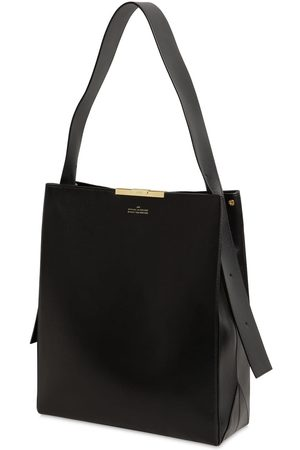 Rokh Large Box Leather Tote Bag