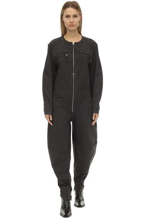 Isabel Marant Leiko Cotton Canvas Jumpsuit