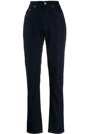 KATHARINE HAMNETT LONDON High rise tapered jeans