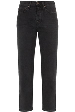 Jeanerica Straight leg cropped jeans