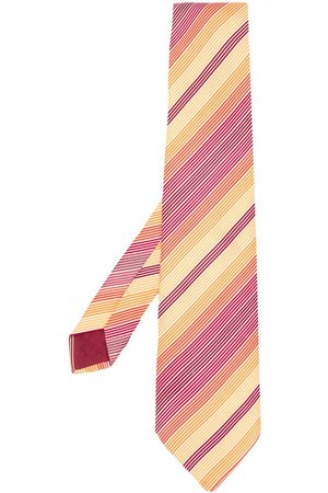 Hermès 2000's pre-owned embroidered diagonal stripes tie
