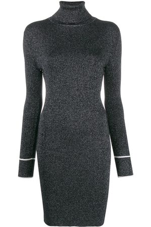 OFF-WHITE Lurex knitted dress