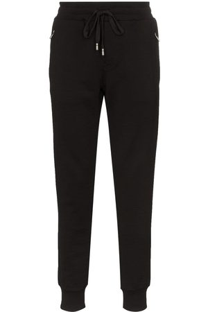 Dolce & Gabbana DG logo-embroidered joggers