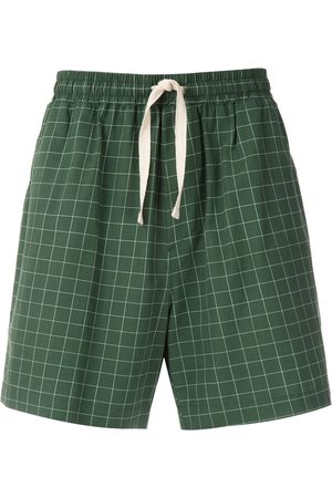 OSKLEN Checked print shorts