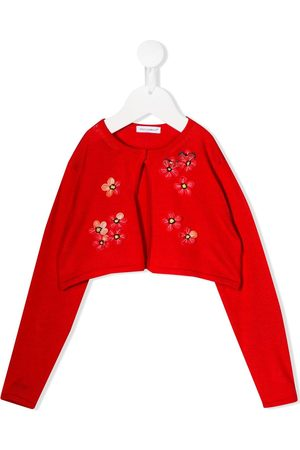 Dolce & Gabbana Embroidered floral cropped cardigan