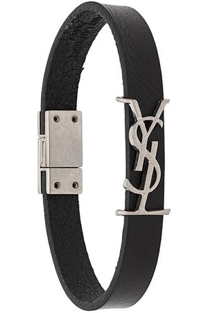 Saint Laurent Monogram leather bracelet
