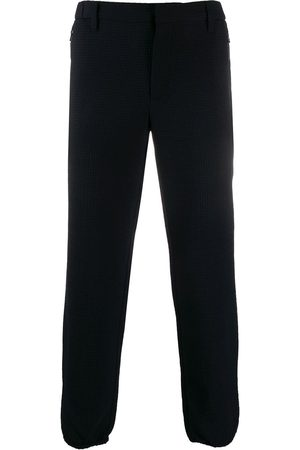 Emporio Armani Tapered check trousers