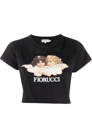 Fiorucci Women Crop Tops - Vintage Angels cropped top