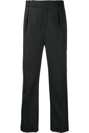 Saint Laurent Striped tailored trousers