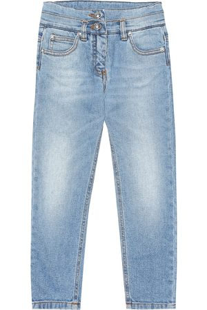 Balmain Girls Jeans - Exclusive to Mytheresa – patch denim jeans