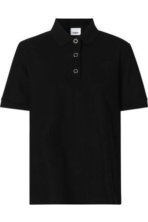 Burberry Monogram motif piqué polo shirt