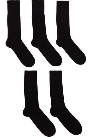 CDLP Five-pack logo ankle sock set
