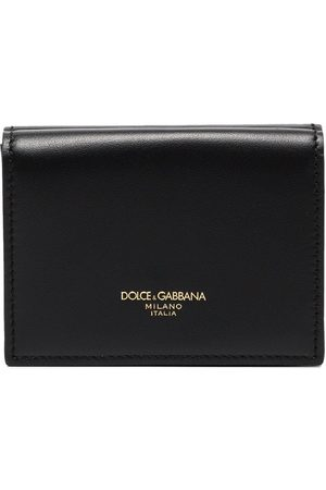 Dolce & Gabbana Monreal logo-print leather wallet