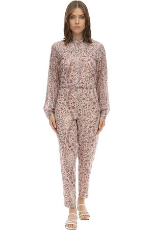 Isabel Marant Liddy Cotton Jumpsuit