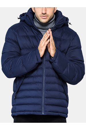 Newchic Winter Detachable Hooded Down Jacket