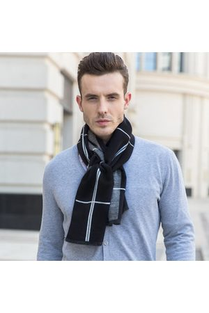 Newchic Men Classic Artificial Cashmere Warm Scarf