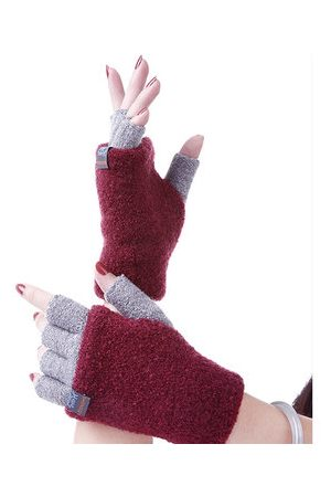 Newchic Warm Texting Knitted Retractable Gloves