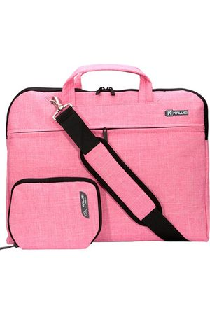 Newchic For 14'' MacBook Air/Pro Solid Cotton Fabric NoteBook Sleeve Carry Shoulder Laptop Bag