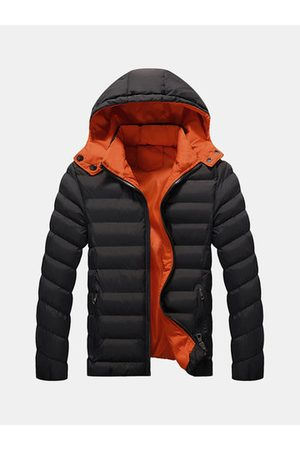 Newchic Men Winter Jackets - Mens Water Resistant Padded Jacket