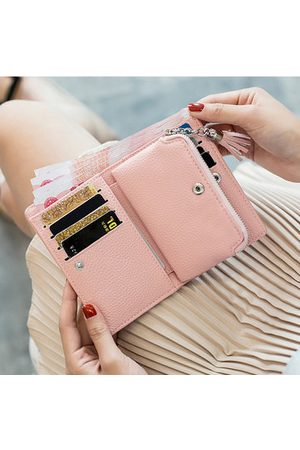 Newchic Women Wallets - Stylish Candy Color Card Holder Short Wallet Purse For Women