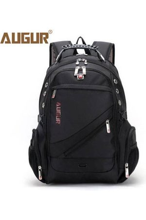 Newchic AUGUR Men Waterproof Large Capacity Oxford Leather Sport Travel Outdoor Laptop Shoulder Bag Backpack