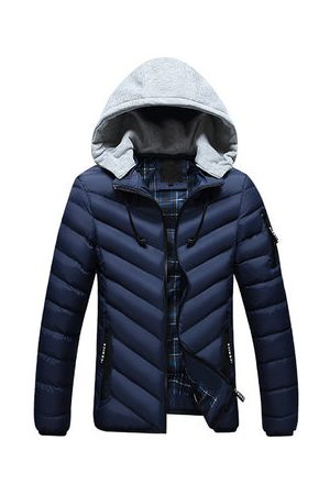 Newchic Winter Mens Hooded Jackets