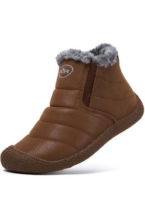 Newchic Women Ankle Boots - Fur Lining Warm Ankle Snow Boots