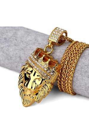 Newchic Crown Lion Sweater Long Necklace