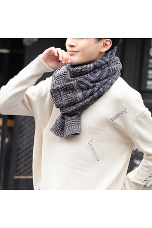 Newchic Winter Warm Diamond Pattern Knitted Scarves