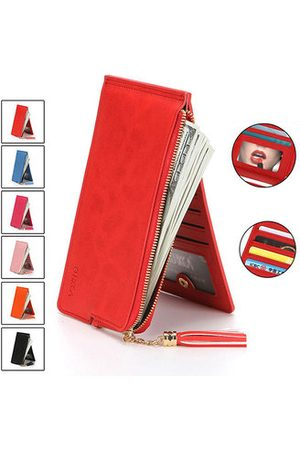 "Newchic Women PU Leather 14 Card Slots 5.5"" Phone Bag Wallet"
