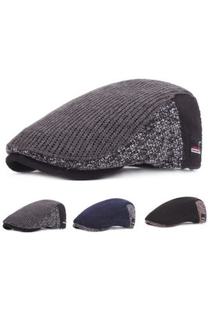 Newchic Mens Warm Knitted Beret Caps Adjustable