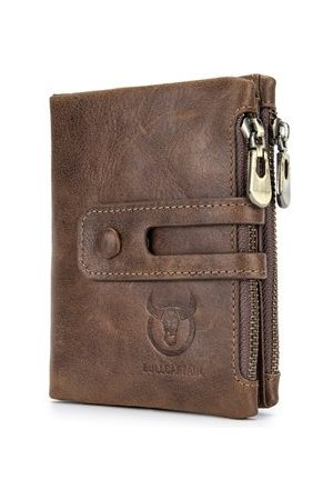 Newchic RFID Antimagnetic Vintage Genuine Leather Wallet