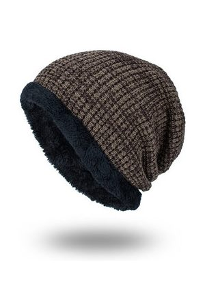Newchic Warm Knitted Baggy Beanie Hats For Men