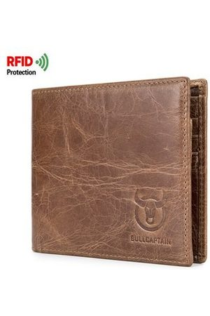 Newchic RFID Antimagnetic Genuine Leather 10 Card Slots Wallet