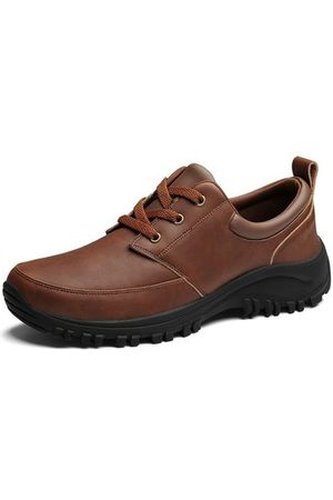 Newchic Men Leather Outdoor Wearable Shoes