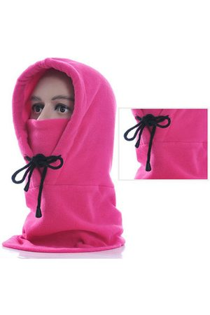 Newchic Warm Solid Face Mask Cap With Earmuffs