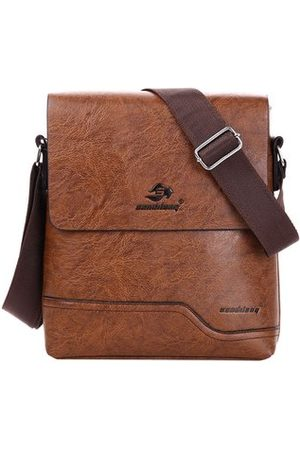 Newchic PU Leather Business Crossbody Bag For Men