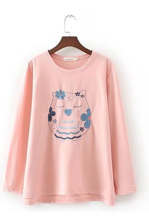 Newchic Printed Long Sleeve Casual Women Shirt