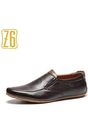 Newchic Z6 Men Lace Up Casual Driving Shoes
