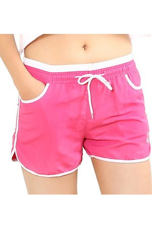 Newchic Straight Cozy Breathable Multiple Colors Sports Yoga Shorts For Women