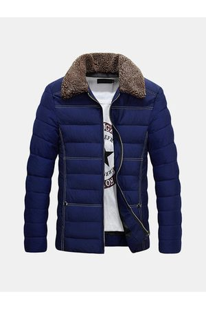 Newchic Thicken Fleece Collar Puffer Jacket