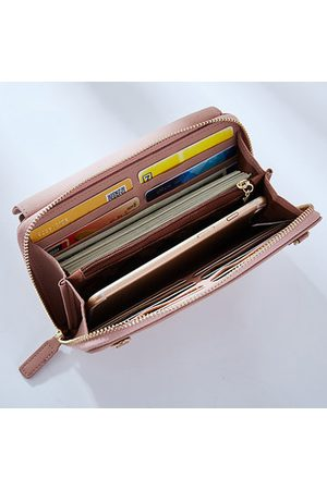 Newchic Women Candy Color Wallet Purse