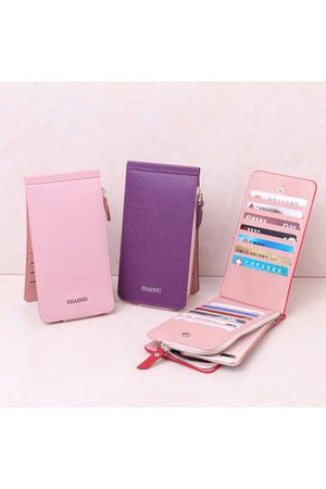Newchic Women Wallets - Women Pure Color 24 Card Slots Card Holder